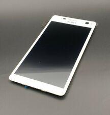ORIGINALE Sony Xperia c4 LCD Display Vetro Disco Touchscreen Display bianco