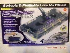 2 Stück Swivel Sweeper Max 33% mehr Power inkl. 4 Akku`s Staubsauger Akku Besen
