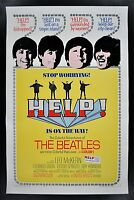 Music Poster Reprint  The Beatles in Help!
