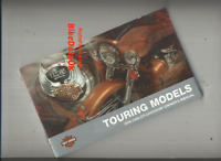 Harley Touring Models (2008) Genuine Owners Riders Manual Hand-Book FLT FLH CF84