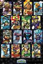 """NEW Skylanders Swap Force Swappables Game Poster 22"""" x 34"""" Inches"""