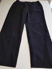 0404845804e Kasper Women s Side Zip Fully Lined Black Dress Pants Size 16 Pre-owned