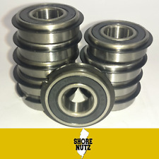 (10) 499502H NR SNAP RING SEALED BALL BEARING 5/8 X 1-3/8 X .433 GO KART CART