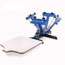 Screen Printing Machine Press 4 Color 1 Station Silk Screen Printing Machine