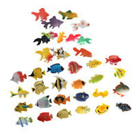LOT 36 Plastic Sea Animal Tropical Angel   Ocean Creature KIDS TOY GIFT