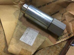 Military Army one way no return hydraulic valve 4820-00-908-0535 E25
