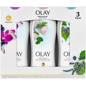 Olay Fresh Outlast Body Wash 23.6 fl. oz., 3 pk Triple Pack