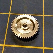 Sonic 3/32 axle 64 Pitch 44 Tooth Aluminum Drag Spur Gear Mid America Raceway