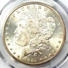 1884-CC Morgan Silver Dollar $1 - PCGS MS66+ CAC Plus Grade - $1,300 Value!