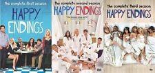 Happy Endings Complete Series Season 1 2 3 DVD Set Collection TV Show Episode R1