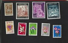 Andorra Fr. sc#172,178-81,222-3,225-6 (1966-74) MH