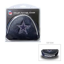 Dallas Cowboys Nfl Licensed Mallet Putter Golf Club Head Cover, Embroidered