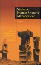 Strategic Human Resource Management: A Reader (Published in association with The