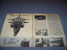 VINTAGE..NORTH AMERICAN X-15 A-2....STORY/HISTORY/PROFILES..RARE! (24D)