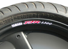 8 x FJR 1300 Wheel Rim Stickers Decals - Choice of Colour - a as fjr1300