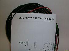 Elektrische Anlage Wiring Mv Agusta T. R.a 125 Kein Batterie + Schaltplan El