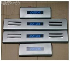 Door Sill Scuff Plate Stainless Steel LED Light for Mitsu ASX 2010-2012