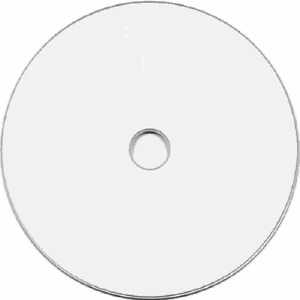 100 DVD+R White Inkjet HUB Printable DL Dual Layer Disc
