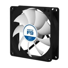 Lüfter 92 x 92 mm Gehäuselüfter Axiallüfter Arctic Cooling F9 3Pin Molex 0,4Sone