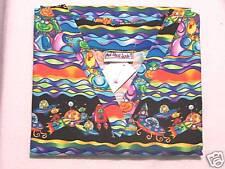 Cosmic Capers Scrub Top - XS 100% Cotton Multi-Color Space Aliens Unisex MAS