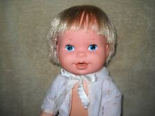Vintage 1978 KENNER Baby TeeFoam DOLL Drink & Wet + Care for Diaper Rash GMFGI