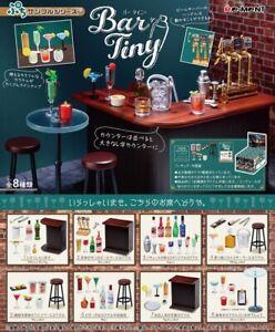 Re-ment Bar Tiny Miniature Bar Counter and Liquor Drinks Rare rement Full set