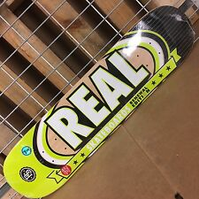 New Real Renewal Select Small Lime Skateboard Deck - 31.38in x 7.56in