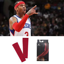 Nike Jordan Shooter Sleeves Arm Armsleeve Iverson 76ers Red Basketball Shooting