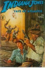Dave Dorman Postcard: Indiana Jones - Fate of Atlantis # 3 cover (USA, 1992)