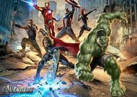 The Avengers Marvel Iron Man Thor Hulk Art Print Photo Glossy Poster A3 A4