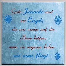 Dekofliese Wandbild Bildfliese Geschenkidee Fliese Freundschaft ... (063DP)