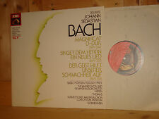 Bach Magnificat BWV 243 LEIPZIG THOMANER CHOIR BOYS KURT THOMAS EMI LP NM