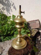 Lampe à Huile en Cuivre et Laiton Ancienne GARDON