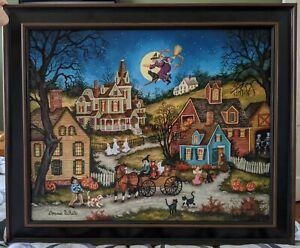 Canvas Halloween Art Prints For Sale Ebay