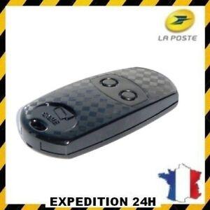 Télécommande Came TOP 432EV Compatible TOP432EE TOP432NA 433.92 MHz noire
