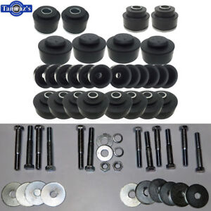 68-72 Chevelle Convertible Body to Frame Mount Bushing Rubber Cushion & Hardware