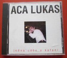 Aca Lukas CD 1998  Jedno Vece u Kafani   Folk Narodna Ex Yugoslavia Vujin Trade