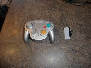 Nintendo Gamecube Official Wireless Wavebird Controller + Receiver VGC Rare RF