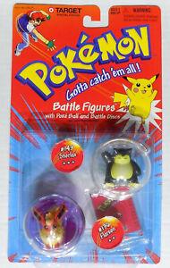 "Pokemon Hasbro 2"" Battle Figures #143 Snorlax #136 Flareon Target Exclusive"
