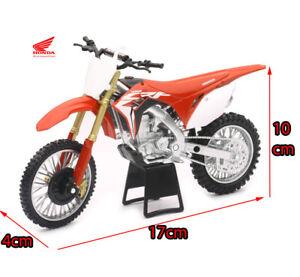 Red Honda CRF450R 1:12 Dirt Motocross Motorbike Motorcycle Kids Diecast Toy Bike
