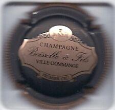Capsule de champagne BOISSELLE et Fils (Noir,rosé ctr striée) NEW