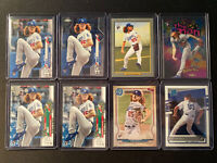 2020 Dustin May Topps Donruss 8 Card Rookie Lot Los Angeles Dodgers