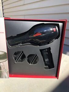Solano Vero Black Professional Infrared Ceramic Lightweight Hair Blow Dryer