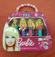 New - Barbie Purse Pez Set