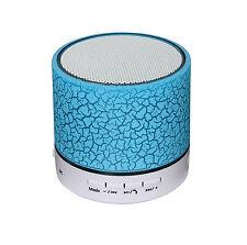 Altavoz 3W Bluetooth V3.0 Manos Libres Lector Reproductor MP3 Mp4 LEDS SD 4401az
