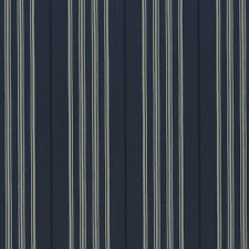 Ralph Lauren Designers Guild Palatine Stripe Wallpaper Midnight/Navy