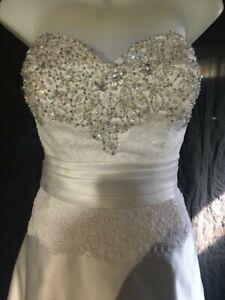 Allure - style nbr 2554 - size 18 - white - original price $1,340