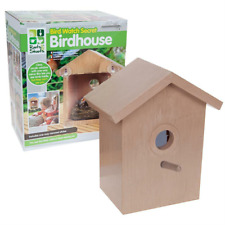 Garden Bird Watching - Secret Window Bird House - One Way Mirrored Sticker