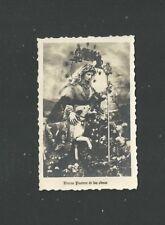 holy card foto antique de la Virgin Divina Pastora santino image pieuse estampa