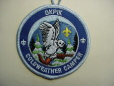 BOY SCOUT BSA NORTHERN TIER HIGH ADVENTURE BASE OKPIK COLDWEATHER CAMPER PATCH